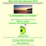 """""""L'orizzonte e il limite - Buono e giusto. Il welfare che costruiremo insieme"""" @ La Spezia - Salone Tele Liguria Sud"""