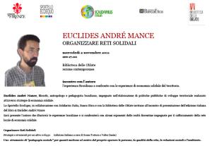 Euclides Mance a Firenze