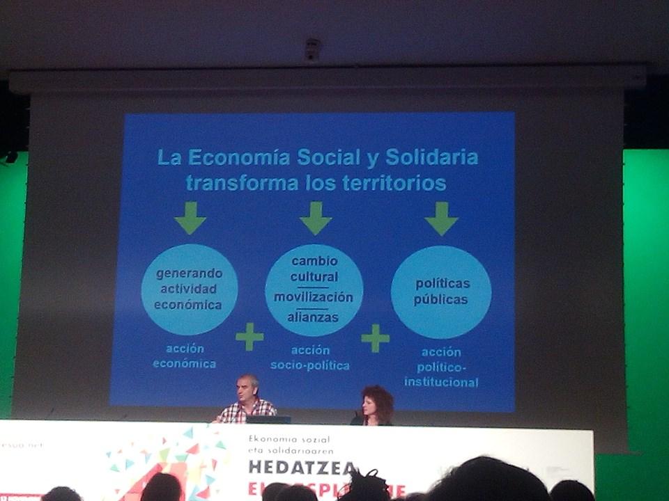 """Da Bilbao: """"Es la hora de transformar la economía!"""""""