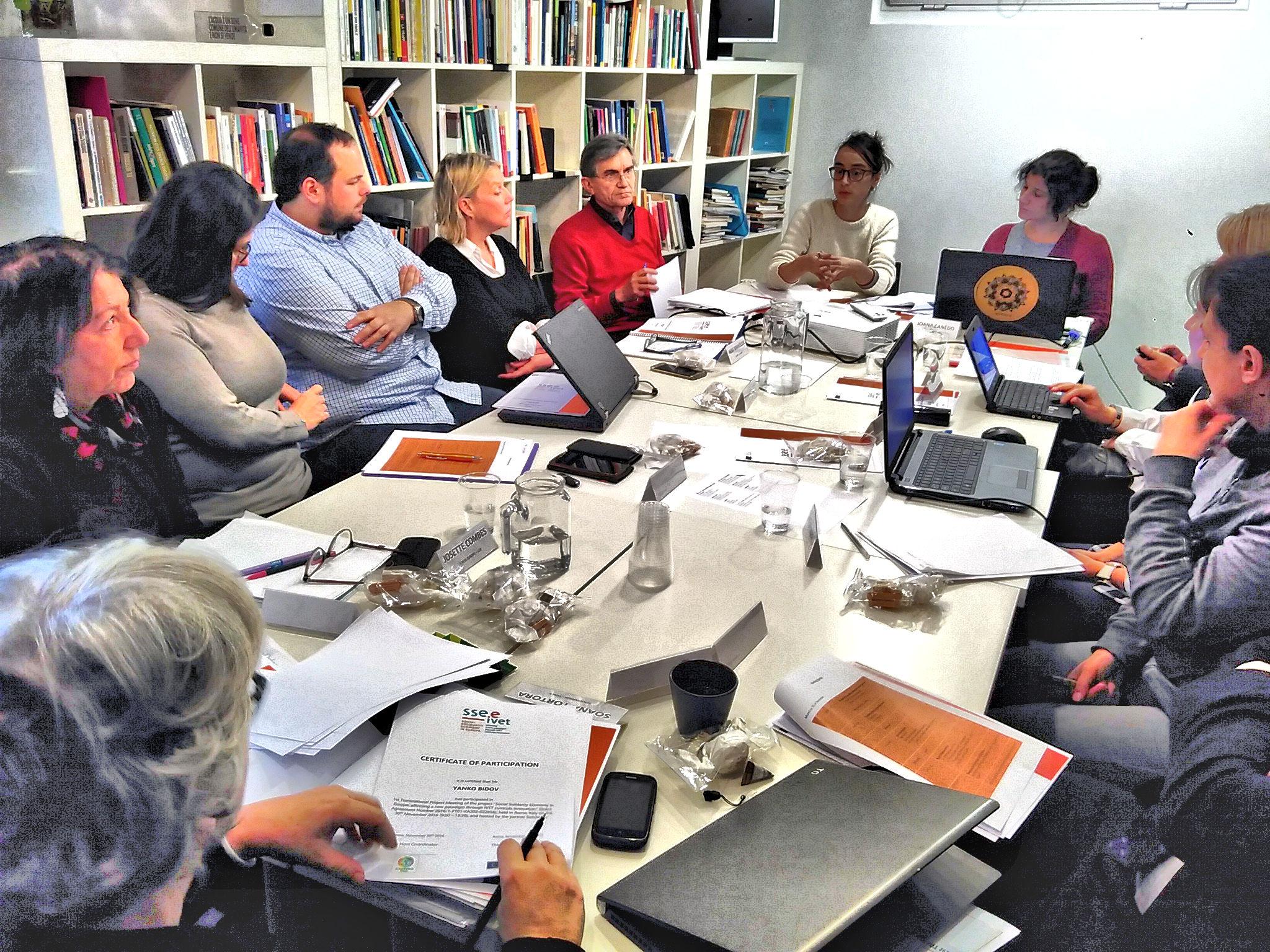 L'economia sociale solidale interroga la formazione professionale. Un progetto europeo mette la questione all'o.d.g.