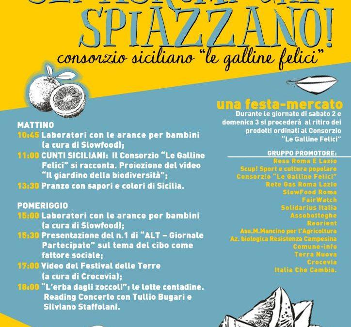 "Le…galline felici ""sbarcano"" a Roma"