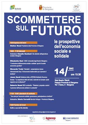 Scommettere sul futuro: prospettive dell'Economia Sociale Solidale