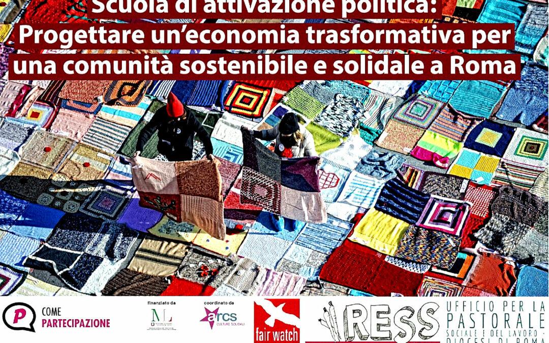 Progettare un'economia trasformativa a Roma